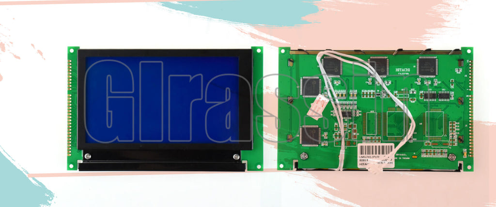 LMG7410PLFC LCD Panel for Hitachi Display Replacement