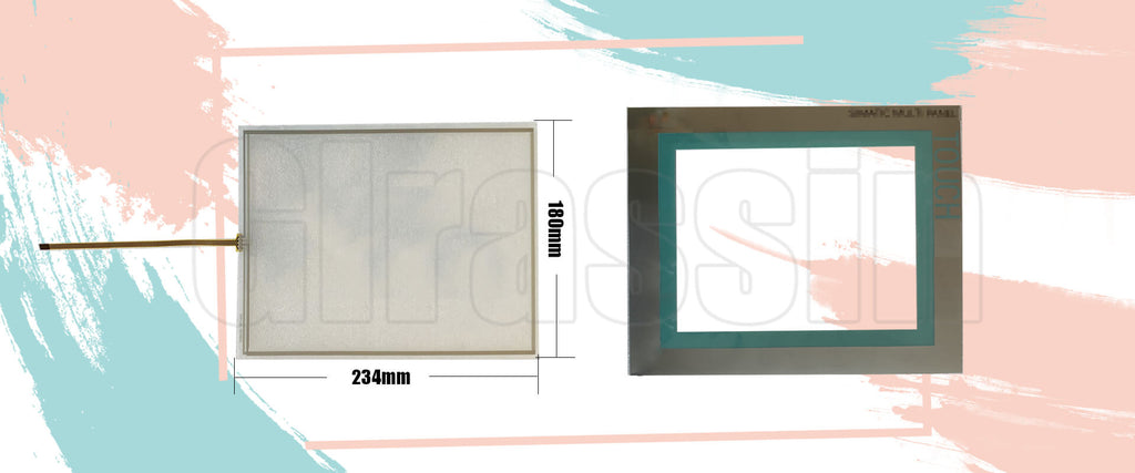 """Touch Screen and Protective flim for Siemens SIMATIC MP 277 10"""" Touch Replacement"""