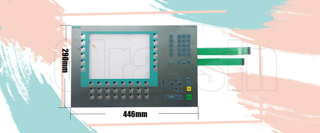 "Membrane Keypad for Siemens SIMATIC MP 277 10"" KEY Repair"