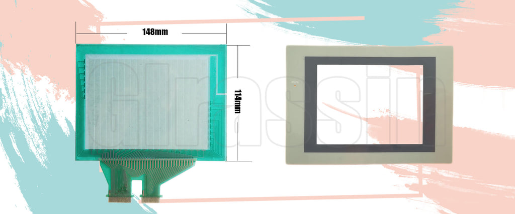 Touch Screen for Omron HMI NS5-SQ11-V2 Replacement