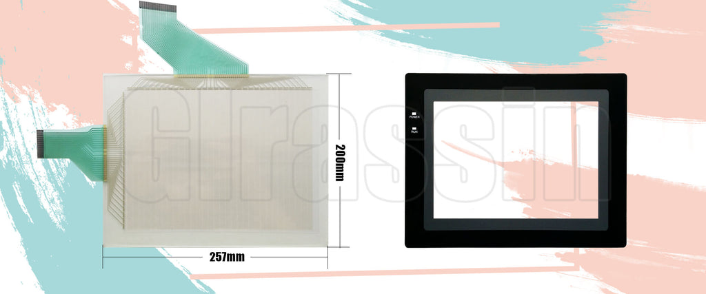 Touch Screen for Omron HMI NT631C-ST152B-EV1/EV2 Replacement