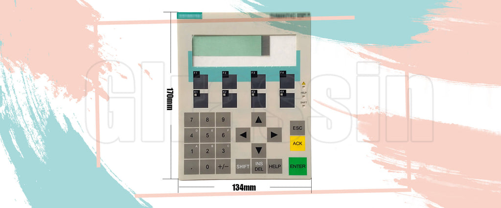 Membrane Keyborad for Siemens SIMATIC OP7 HMI Replacement