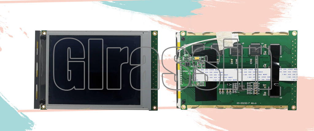 LCD Display Module for Hitachi SP14Q009 Replacement