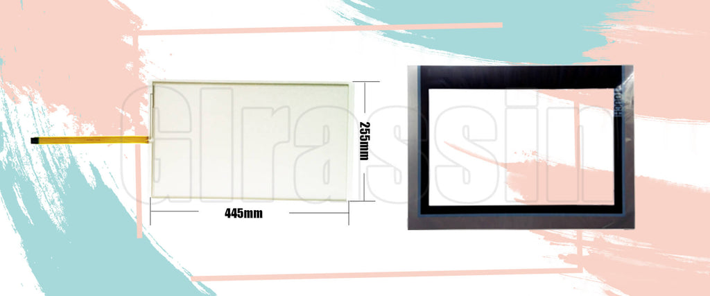 "Touch Screen and Overlay for Siemens SIMATIC HMI IPC277D 19"" Repair"