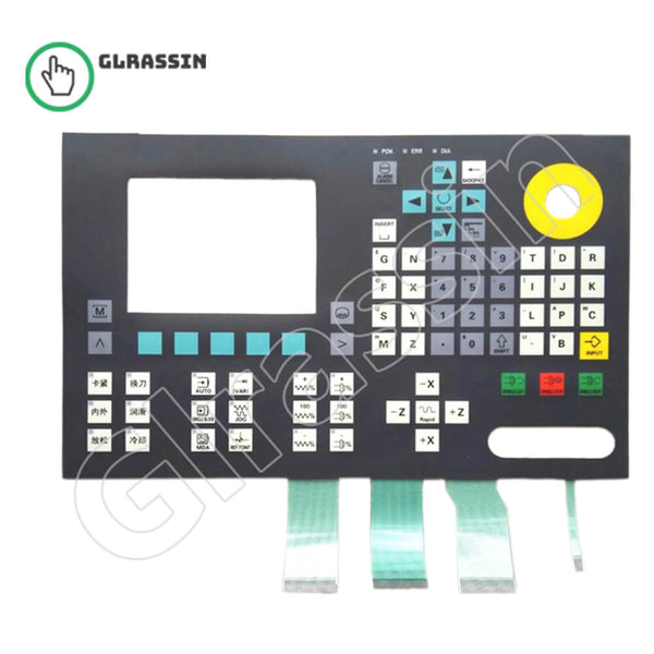 Membrane Keypad for Siemens SINUMERIK 801 Replacement - Glrassin