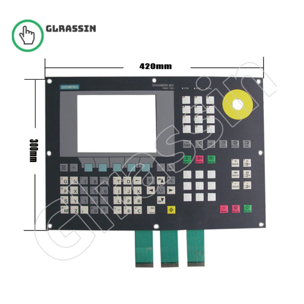 Membrane Keyboard for Siemens SINUMERIK 802C Repair - Glrassin