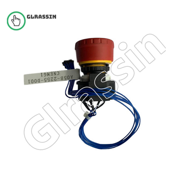 FANUC A05B-2255-D001 Emergency Stop Button Replacement - Glrassin