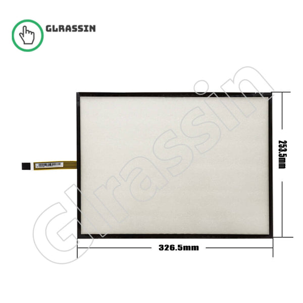 Original Touch Screen 15 INCH for AMT16004-00B - Glrassin