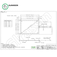 8.4 INCH Original Touch Screen for AMT2530 91-2530-000 - Glrassin