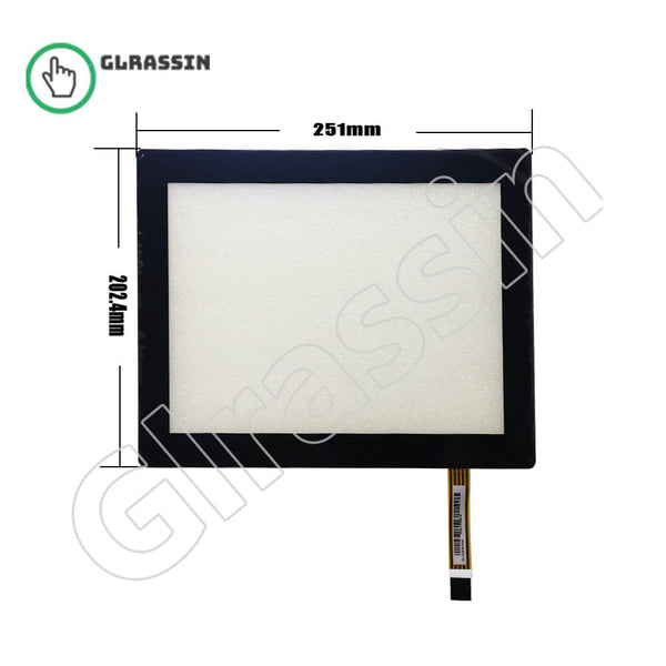 10.4 INCH Original Touch Screen for AMT2539 91-2539-F00 - Glrassin