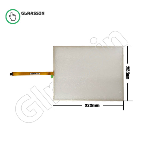 15 INCH Original Touch Screen for AMT28190 91-28190-00C - Glrassin