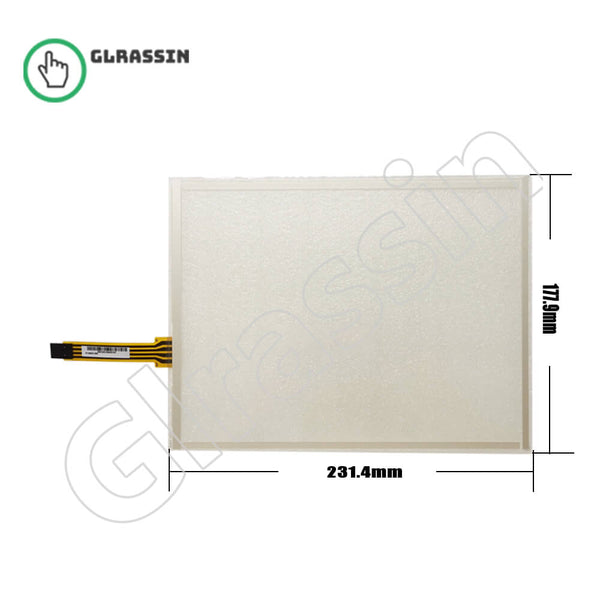 Original Touch Screen 10.4 INCH for AMT9537 91-9537-000 - Glrassin