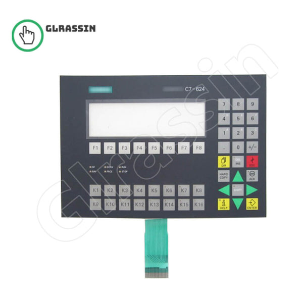 Membrane Keyboard for Siemens SIMATIC HMI C7-624 - Glrassin