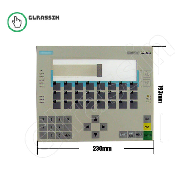 Membrane Keyboard for Siemens SIMATIC HMI C7-634 - Glrassin