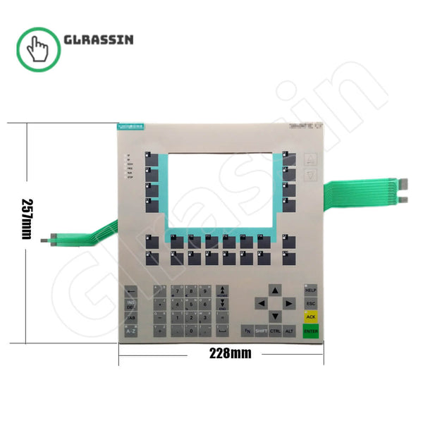 Membrane Keyboard for Siemens SIMATIC HMI C7-636 - Glrassin