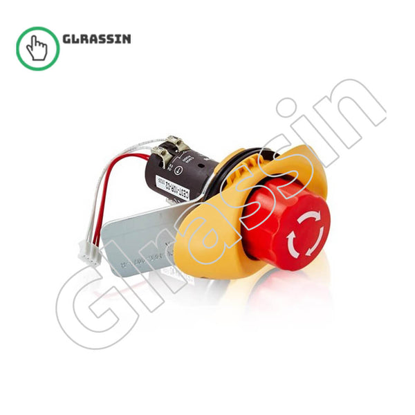 ABB CE3T-10R-02 3HAC028357-025 Emergency Stop Button - Glrassin