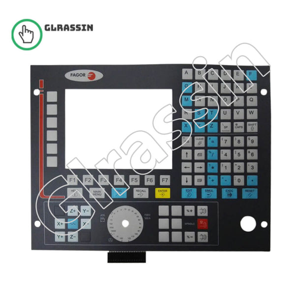 Membrane Keyboard for Fagor CNC8036M Repair Replacement