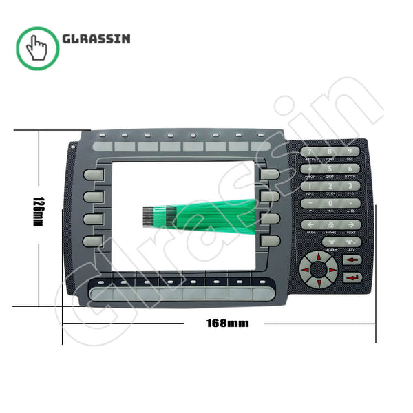 Membrane Keyboard for Beijer HMI EXTER K60 Replacement - Glrassin
