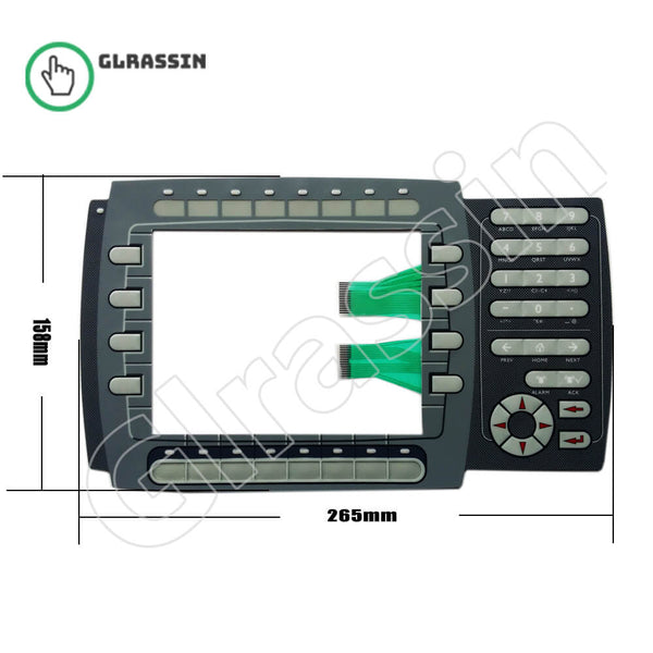EXTER K70 Membrane Keyboard for Beijer HMI Replacement - Glrassin