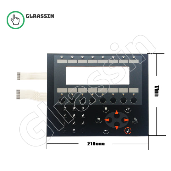 Membrane Keyboard for Beijer Eectronics HMI E300 Replacement - Glrassin