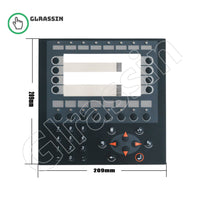 Membrane Keyboard for Beijer Eectronics HMI E600 Replacement - Glrassin