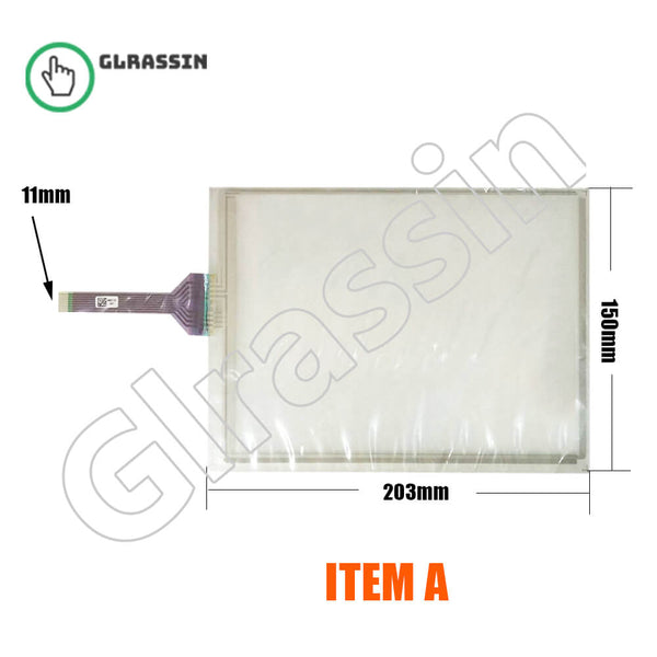 8.4 INCH GT/GUNZE USP 4.484.038 G08402 Touch Screen Replacement
