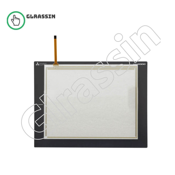 GT2308-VTBA/D Touch Screen for Mitsubishi HMI Replacement - Glrassin