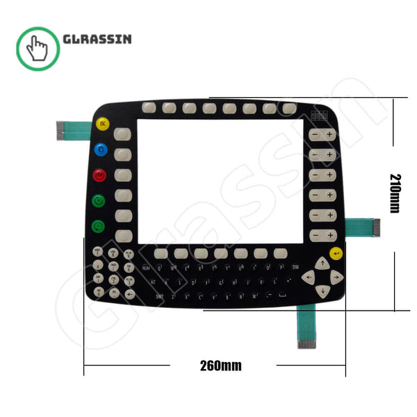 Membrane Keyboard for KUKA KRC2 KCP2 Teach Pendant Repair - Glrassin