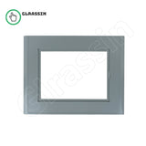 "Plastic Front Cover for Siemens SIMATIC MP 277 10"" Touch Replacement - Glrassin"