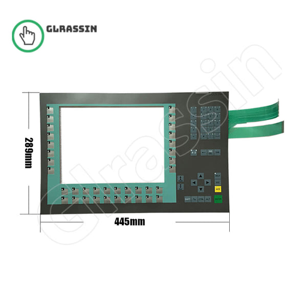 "Membrane Keypad for Siemens SIMATIC MP 377 12"" KEY Repair - Glrassin"