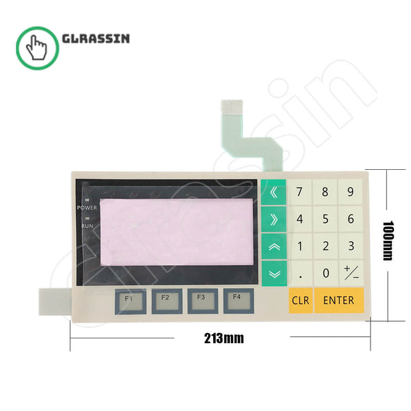 Membrane Keypad for Omron HMI NT11-SF121-EV1 Replacement - Glrassin