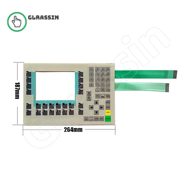 "Membrane Keyborad for Siemens SIMATIC OP 270 6"" Replacement - Glrassin"