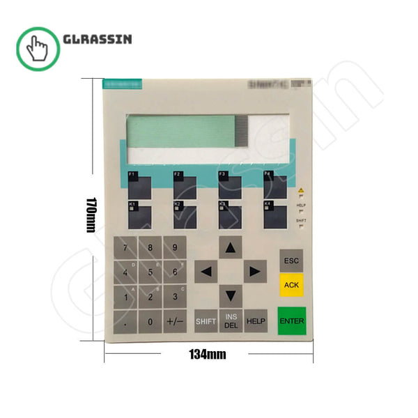 Membrane Keyborad for Siemens SIMATIC OP7 HMI Replacement - Glrassin
