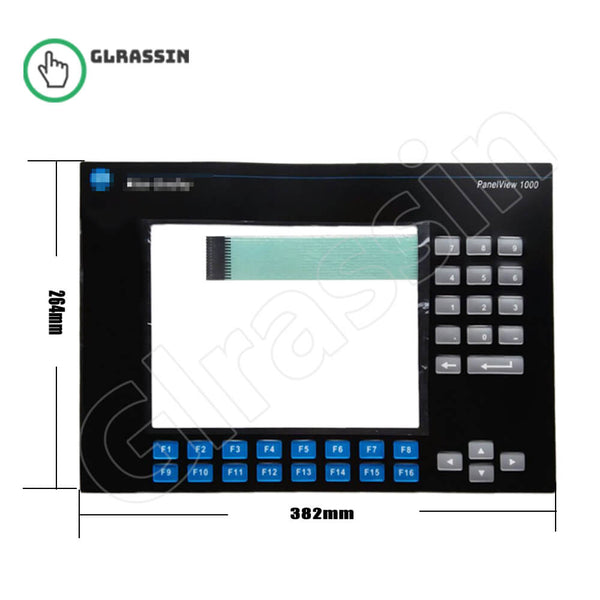 Membrane for Panelview 1000 2711-K10C Keypad Replcement - Glrassin