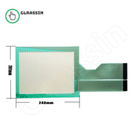Touch Screen for PanelView 1000 2711-T10C Replacement - Glrassin