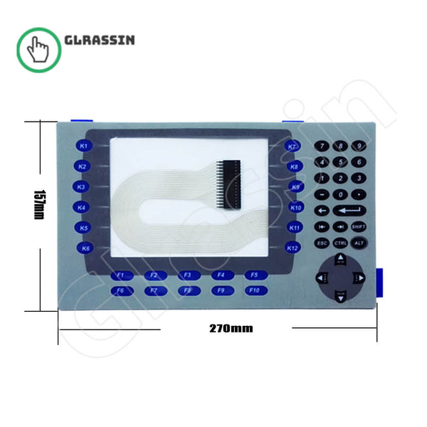 Membrane Keypad for PanelView Plus 700 2711P-K7 Repair - Glrassin