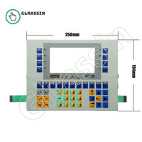 Membrane Keyboard for ESA HMI VT550 Replacement - Glrassin