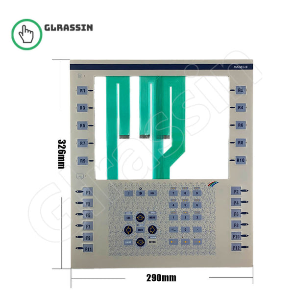 Membrane Keyboard for Schneider XBT F024310 Replacement - Glrassin