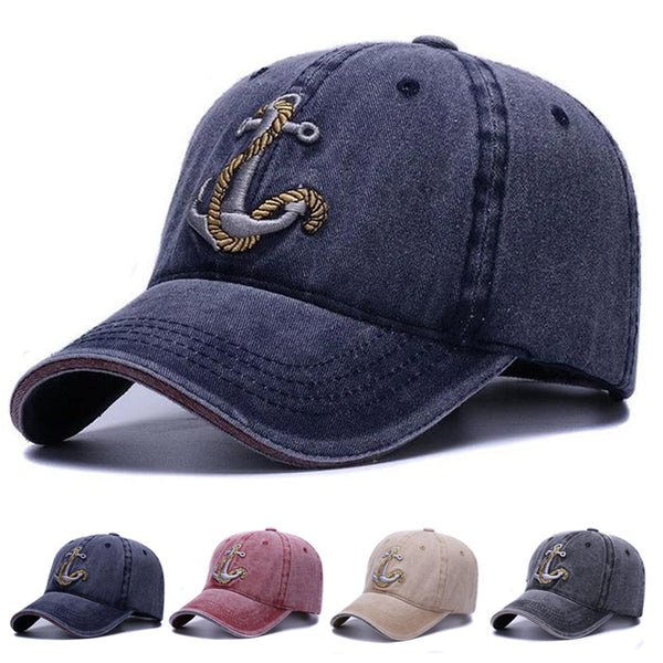 Vintage Anchor Baseball Cap