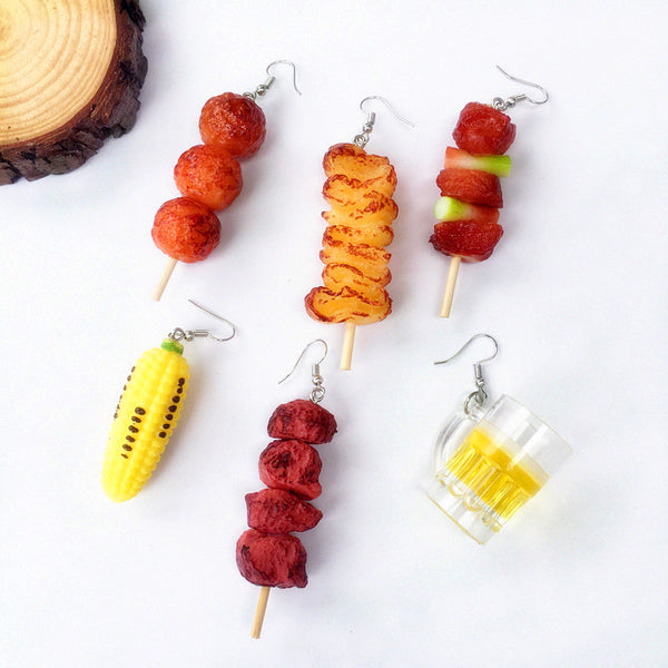 Funny Barbecue Earrings