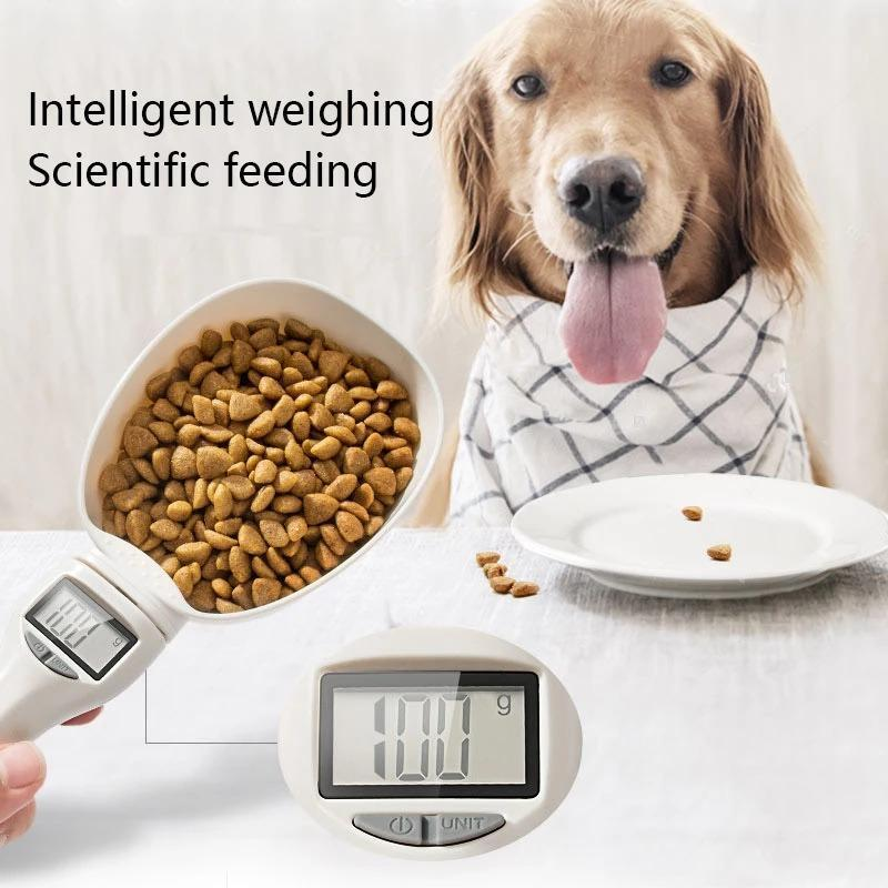 Pet Food Drinking Water Scoop Cup Scale