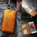 Classic Retro Stand Wallet Case For Samsung&Iphone
