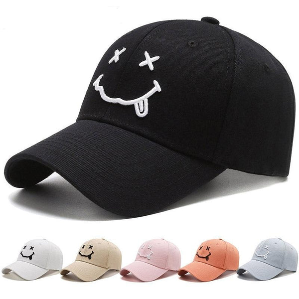 Fashion Smiley Baseball Cap