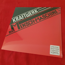 Load image into Gallery viewer, Kraftwerk ‎– Die Mensch•Maschine  - Translucent Red Vinyl
