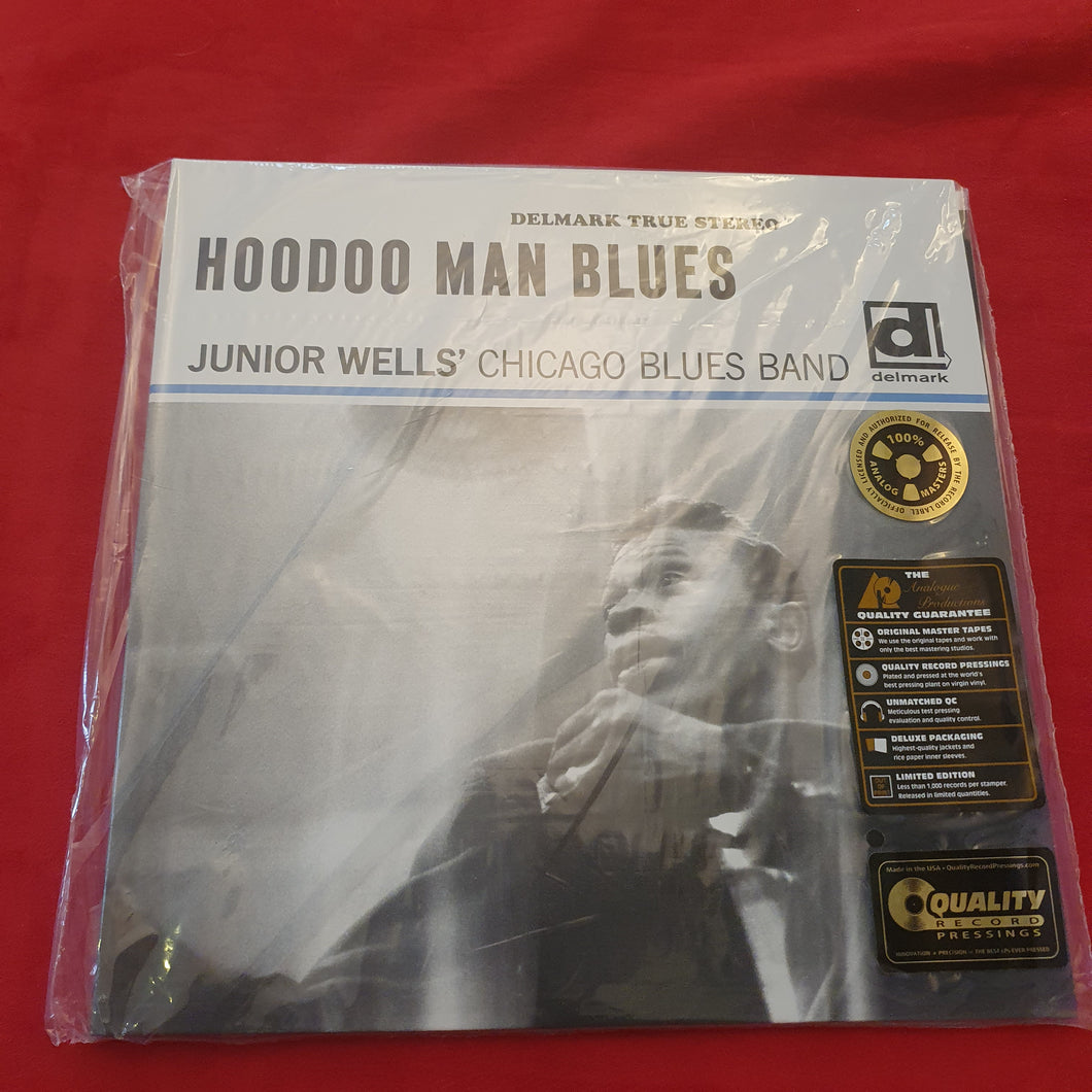 Junior Wells' Chicago Blues Band With Buddy Guy ‎– Hoodoo Man Blues