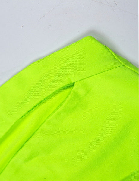 Neon Green Cut Out Two Piece Co Ord
