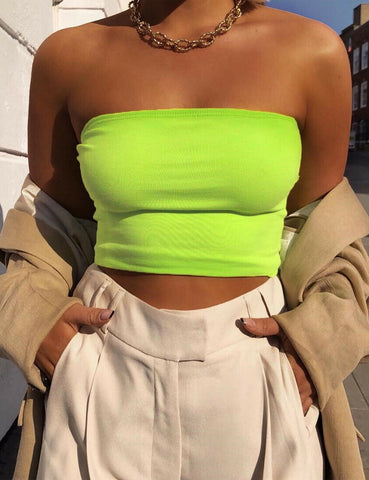 Basic Neon Tube Top