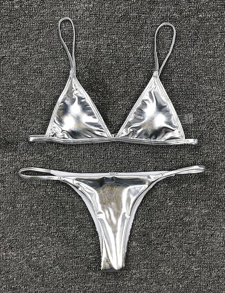 Silver Dream Two Piece Swimsuit