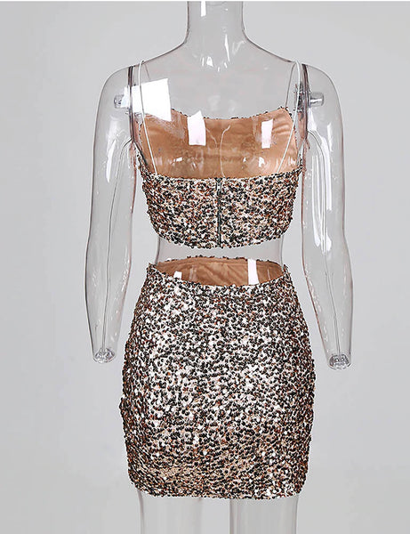 Sequins Dream Two Piece Co Ord