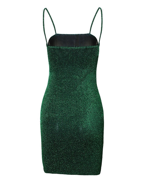Green Glitter Dream Dress